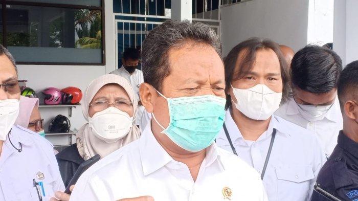 Kunjungan Kerja di Maluku, Trenggono; Industri Perikanan Tidak akan Javasentris Lagi