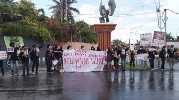 Peringati Hari Perempuan Internasional, Aliansi Comrade Gelar Aksi Dengan 25 Tuntutan