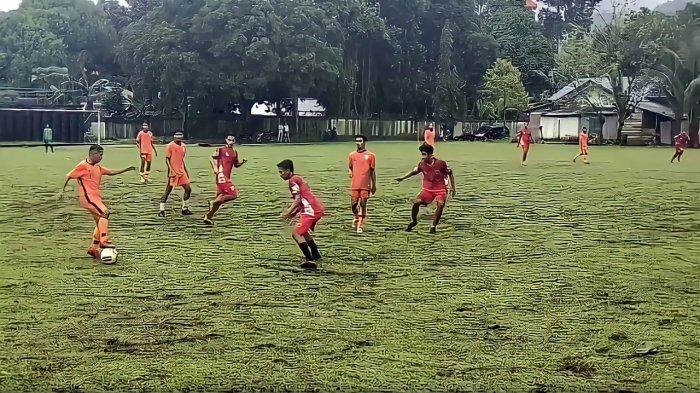 Uji Coba Melawan Santos Mamala, Maluku FC Menang dengan Skor Telak, Fanky Cetak Hattrick