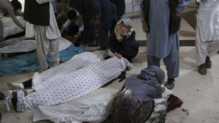 Ledakan Bom di Sekolah Afghanistan, 40 Tewas termasuk Anak-anak