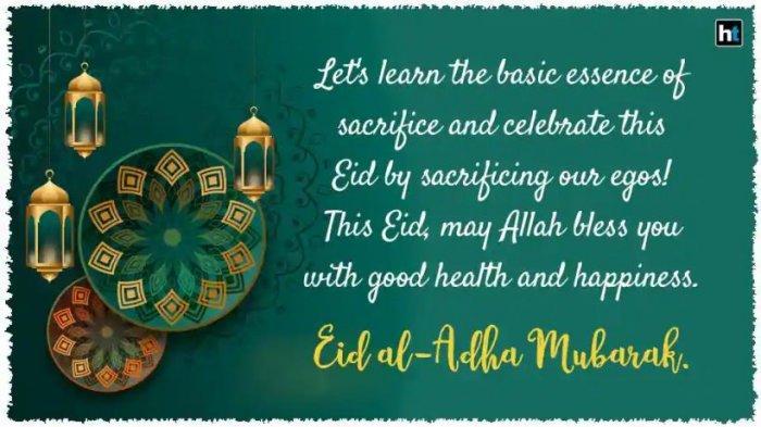 Ucapan Selamat Idul Adha 1441 H dalam Bahasa Inggris dan Artinya, Cocok Dikirim via Whats App