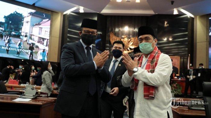 Riza Patria Terpilih sebagai Wagub DKI Jakarta Dampingi Anies Baswedan, Sandiaga Uno Ucapkan Selamat