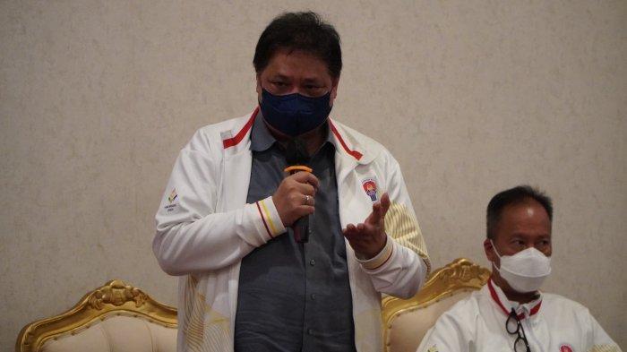 Hartarto Minta Pemda Maluku Percepat Vaksinasi Booster Bagi Tenaga Kesehatan