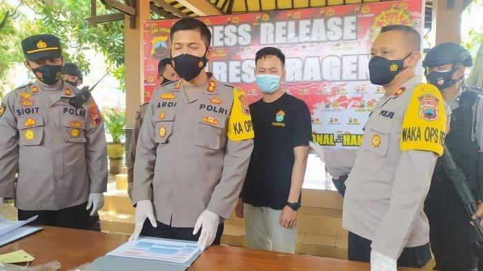Kartu ATM Tertelan, Remaja di Sragen Kesal dan Berusaha Bobol Mesin dengan Cangkul