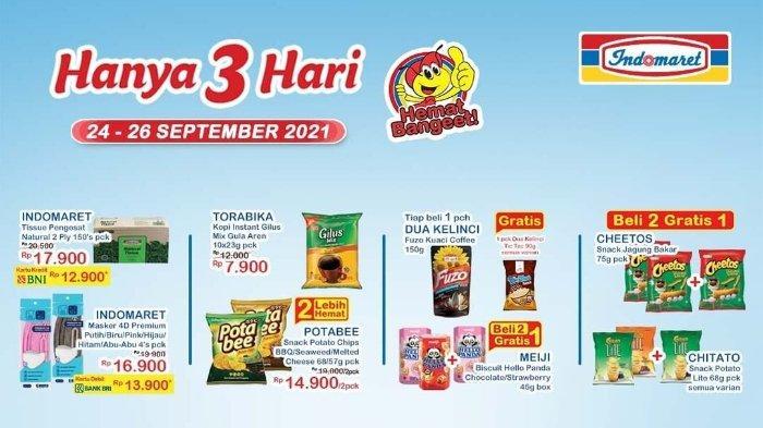 Katalog Promo JSM Indomaret 24-26 September 2021: Chitato Lite Beli 2 Gratis 1