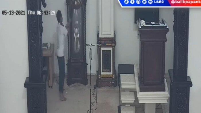 Viral Aksi Pria Merusak Fasilitas Masjid Terekam CCTV, Motif Pelaku Masih Diselidiki