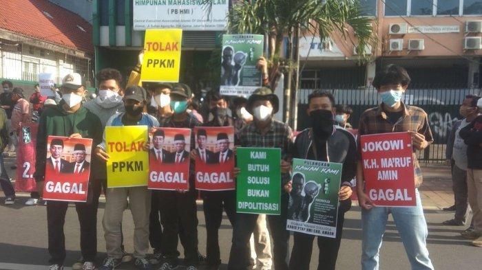 Gelar Aksi Solidaritas untuk Aktivis HMI Ambon di Jakarta, PB HMI; Pulangkan Kawan Kami