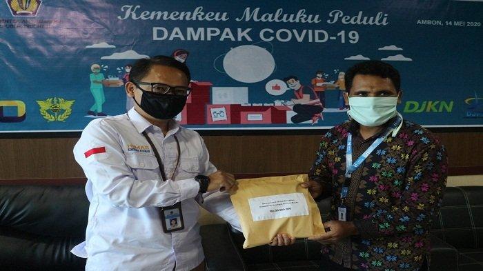 Hasil Galang Dana Singkat, Pejabat dan Pegawai Lingkup Kemenkeu Maluku Donasi Rp 50 Juta Bantu Warga