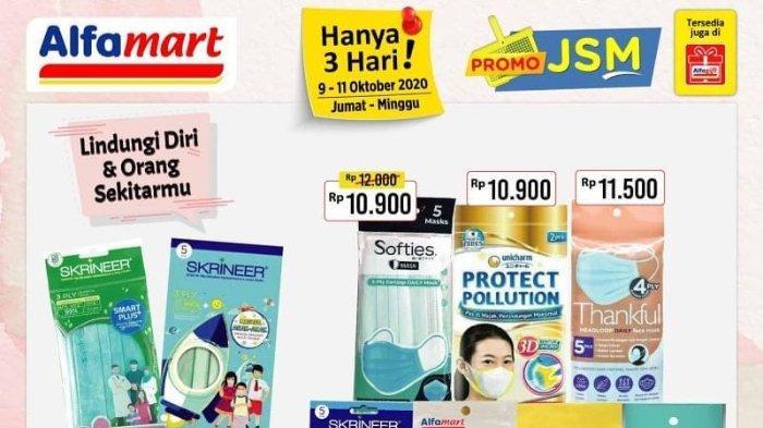 Promo JSM Alfamart 9-11 Oktober 2020, Nikmati Potongan Harga Gede-gedean!