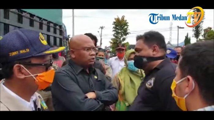 Pergoki Sembako Bansos COVID-19 Dikorupsi, Anggota DPRD Sumut Nyaris Berkelahi dengan Petugas