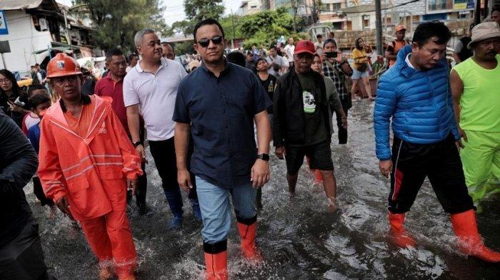 Kritikan Sejumlah Tokoh Soal Banjir Jakarta, Prasetyo Edi Sebut Anies Baswedan Tak Memiliki SOP