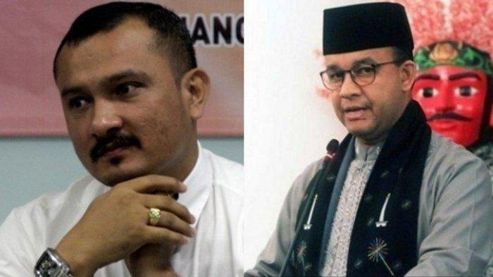 Ferdinan Hutahean Bicara Soal Kemungkinan Anies Baswedan jika Maju ke Pilgub DKI 2022
