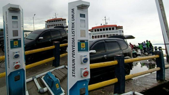 Anjungan Listrik di Pelabuhan Waipirit–SBB Bakal Beroperasi Pekan Depan