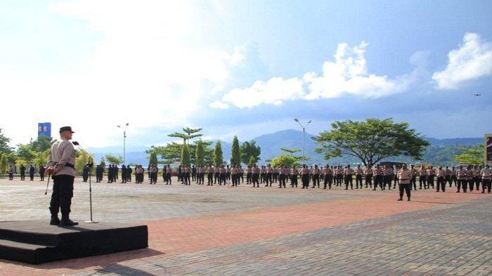 775 Pasukan Siaga Amankan Pilkada Serentak Empat Kabupaten di Maluku