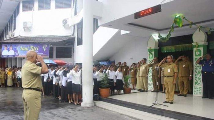 PSBB Transisi Ambon, ASN Punya Penyakit Bawaan Dianjurkan Bekerja di Rumah