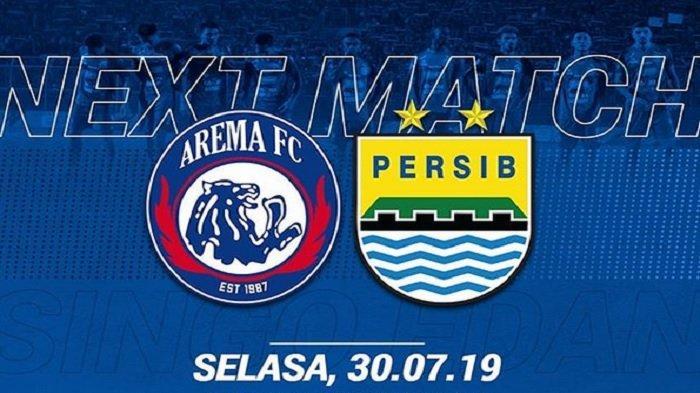 BIG Match Arema vs Persib, Siaran Langsung TV Online Indosiar dan Usee TV