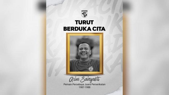 Sainyakit, Legenda Sepak Bola Maluku dan Persebaya Tutup Usia