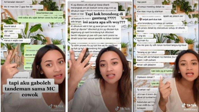Viral Wanita Mengaku Ditawari Jadi MC di Acara Arisan Sosialita yang Tumbalkan 'Berondong'
