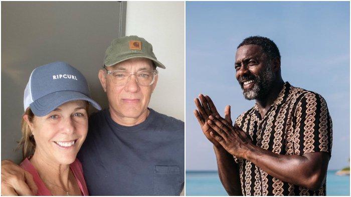 Sederet Artis yang Dinayatakan Positif Corona, Tom Hanks hingga Idris Elba