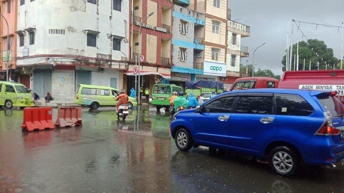 Ada Upacara HUT Ke-446 Kota Ambon, Arus Lalu Lintas Lancar Meski Terjadi Penutupan Jalan