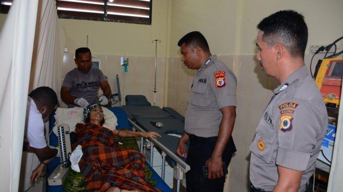 Pengungsi Gempa Ambon Penderita Kanker Payudara Akhirnya Mau Dirawat di RS Bhayangkara Polda Maluku