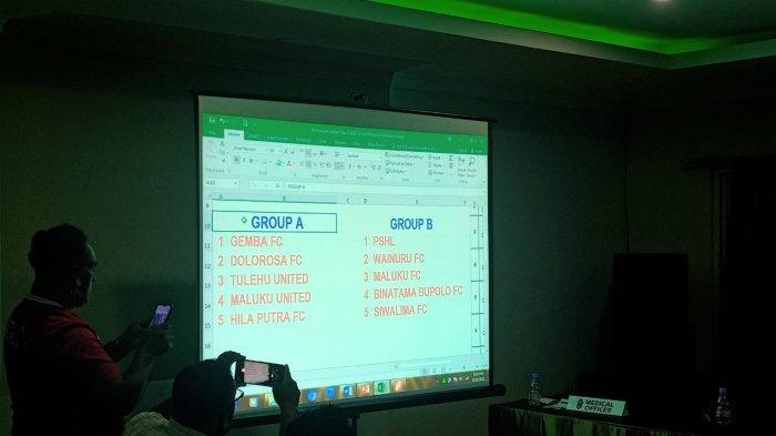Berikut Pembagian Grup Pertandingan Liga 3 Maluku