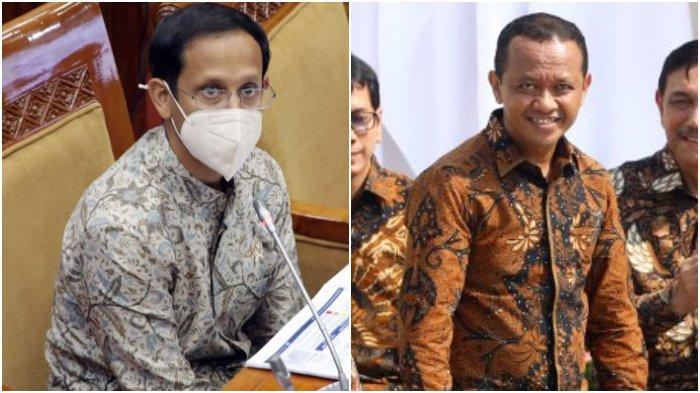 Profil Bahlil Lahadalia dan Nadiem Makarim, Menteri Nomenklatur yang Baru Saja Dilantik Jokowi