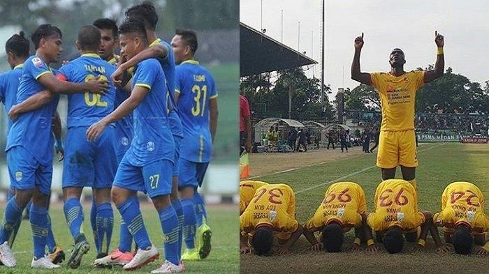 LIVE TV Online Bandung United vs Sriwijaya FC Liga2 Senin Sore, Akses di HP
