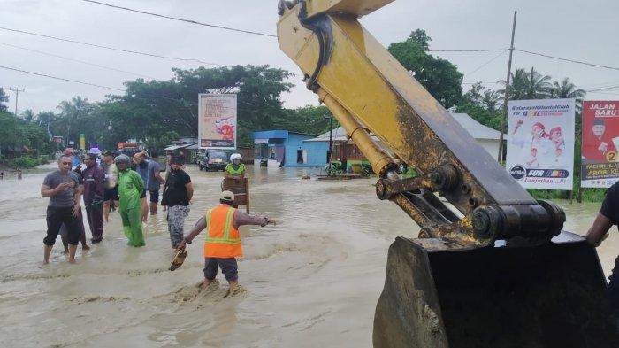 BREAKING NEWS: Hujan Kurang dari Dua Jam, Kota Bula Terendam Banjir