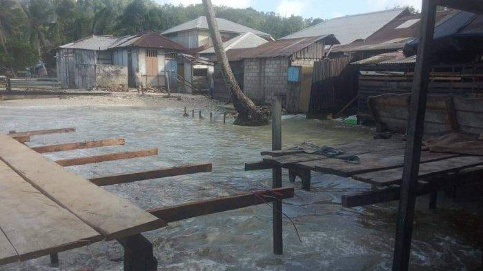 Belasan Rumah di Negeri Utta - Maluku Terancam Banjir Rob, Warga; Kami Butuh Bantuan