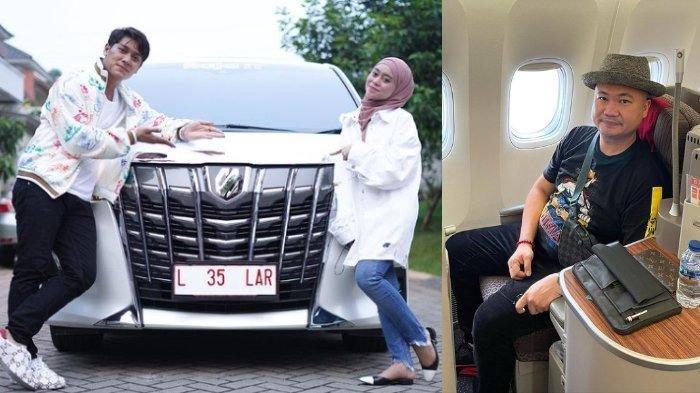 Rizky Billar dan Lesti Kejora Terima Kado Mobil Mewah dari Pengusaha Basuki Surodjo
