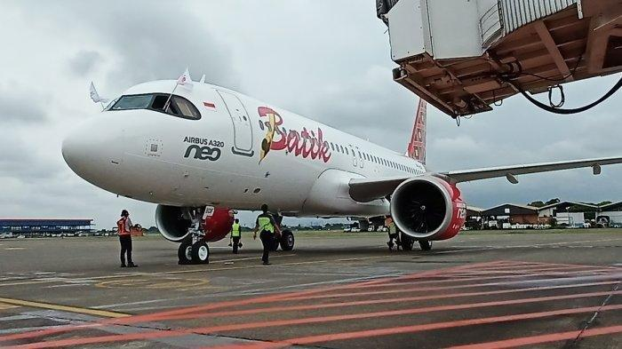Pesawat Batik Air Penerbangan ID-6803 Mendarat Darurat di Jambi, Terjadi Kendala Teknis