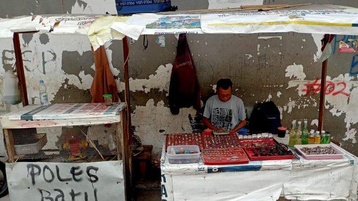 Pernah Viral, Ini Kondisi Pedagang Batu Akik di Kota Ambon Sekarang