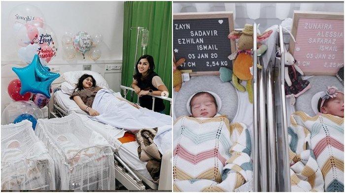 Syahnaz Sadiqah Lahirkan Bayi Kembar, Nisya Ahmad: Welcome to the World Baby
