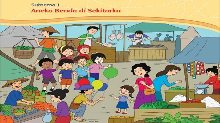 Kunci Jawaban Buku Tematik Kelas 3 SD Tema 3, Subtema 1 Pembelajaran 1 Halaman 3, 5, 6, 7