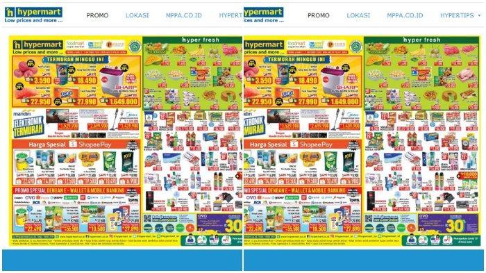 Berbelanja di Hypermart melalui aplikasi Grab Diskon hingga Rp 100 Ribu
