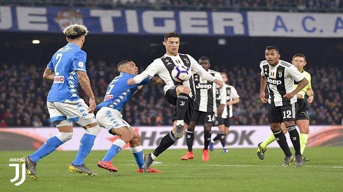 Big Match Versus Napoli Awal September, Jadwal Lengkap Juventus di Liga Italia 2019-2020
