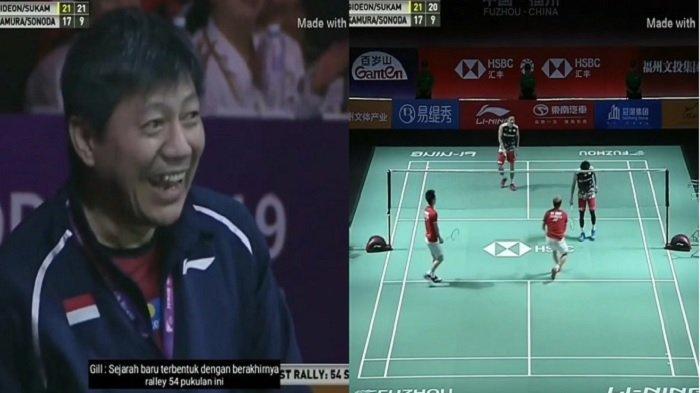 Viral Video Bikin Ngakak Aksi Tengil Kevin Sanjaya The Minions di Final, Reaksi Pasangan Jepang?