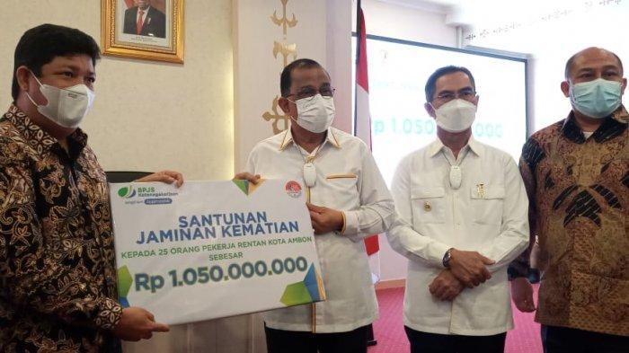 Terhalang Dana, 34 Ribu pekerja di Kota Ambon Belum Dapat Jaminan Perlindungan Sosial