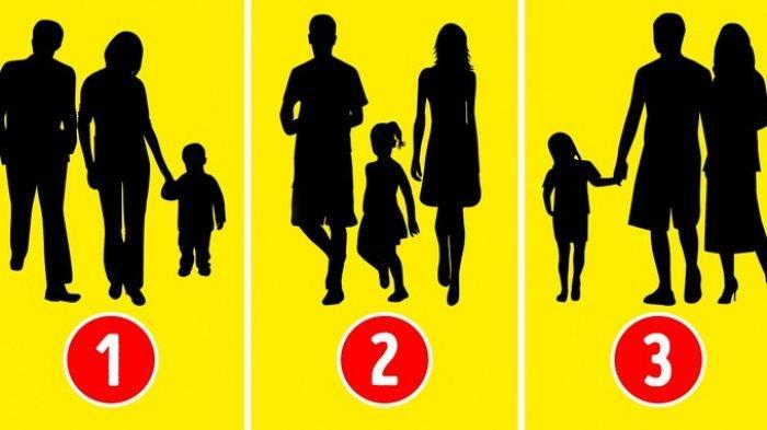 Tes Kepribadian: Dari 3 Potret Ini, Mana yang Bukan Keluarga Menurutmu?