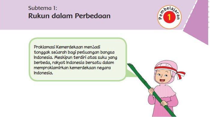 Kunci Jawaban Buku Tematik Tema 2 Kelas 6 SD Subtema 1: Bekerja Sama Mencapai Tujuan, Halaman 2-7