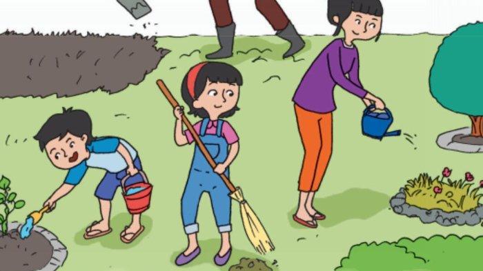 Apa yang Dilakukan Ibu Dayu? Kunci Jawaban Tema 6 Kelas 2 Halaman 176 177 178 179 180 183 184