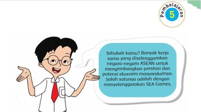 Kapan Indonesia Menjadi Tuan Rumah Penyelenggaraan SEA Games? Jawaban Tema 5 Kelas 6 Hal 48 - 58