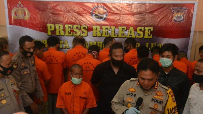 Buron Setahun, Pelaku Pembunuh Istrinya Diringkus di Pulau Seram