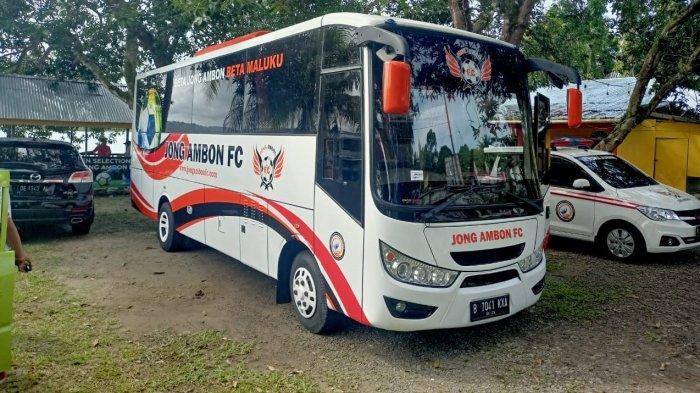 Menyongsong Liga Remaja, Jong Ambon FC Siapkan Bus dan Ambulance Baru