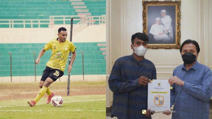 Idolakan Rizky Pora, Buyung Berharap Bisa Diturunkan pada Laga Kontra Persib Bandung