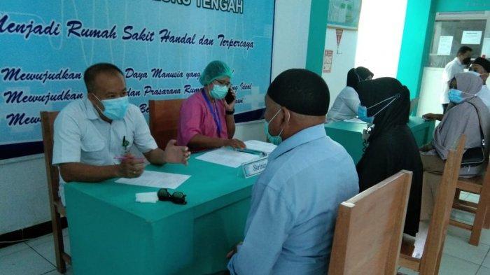 Persiapan Ibadah Haji, 41 Calon Jamaah Haji Asal Maluku Tengah Disuntik Vaksin Covid 19