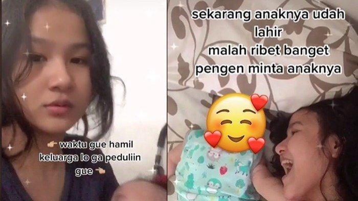 Waktu Hamil Tak Pernah Dinafkahi, Ibu Muda Ini Tak Rela Bayinya Diminta Keluarga Suami