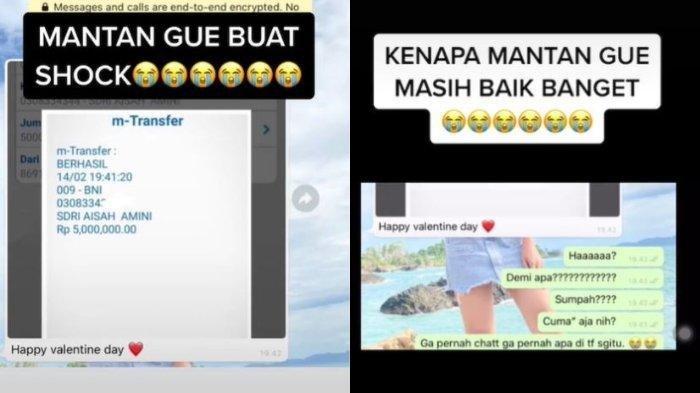 Viral Perempuan di Lampung Dapat Transferan Uang Rp 5 Juta dari Mantan, Ngajak Balikan?