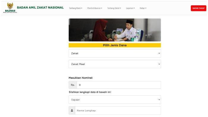 Bayar Zakat Fitrah Bisa Dilakukan Secara Online lewat baznas.go.id, Simak Caranya!